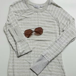 Athleta Criss Cross Sweatshirt Dress XS
